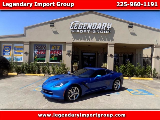 2014 Chevrolet Corvette Stingray 1LT Coupe RWD