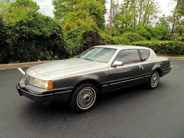 1987 Mercury Cougar LS Coupe RWD