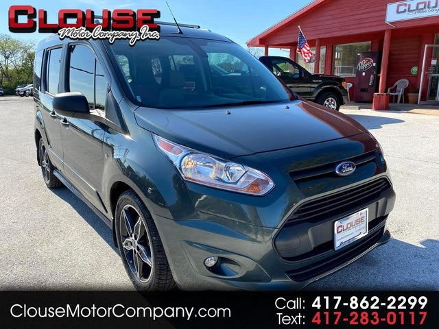 2018 Ford Transit Connect Wagon XLT FWD with Rear Cargo Doors