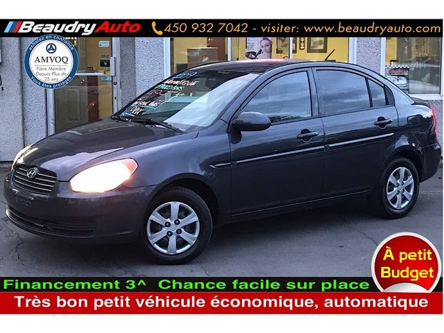 2009 Hyundai Accent L Sedan FWD