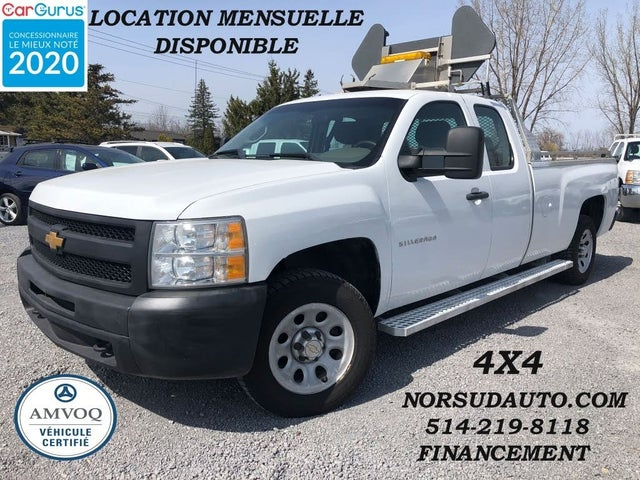 2012 Chevrolet Silverado 1500 Work Truck Extended Cab LB 4WD
