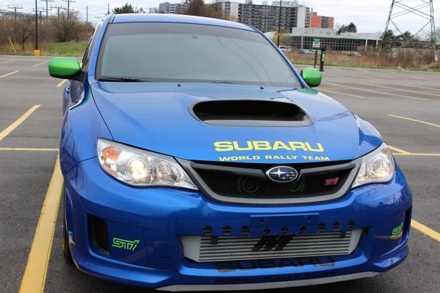 2012 Subaru Impreza WRX STI Sport-Tech Sedan AWD