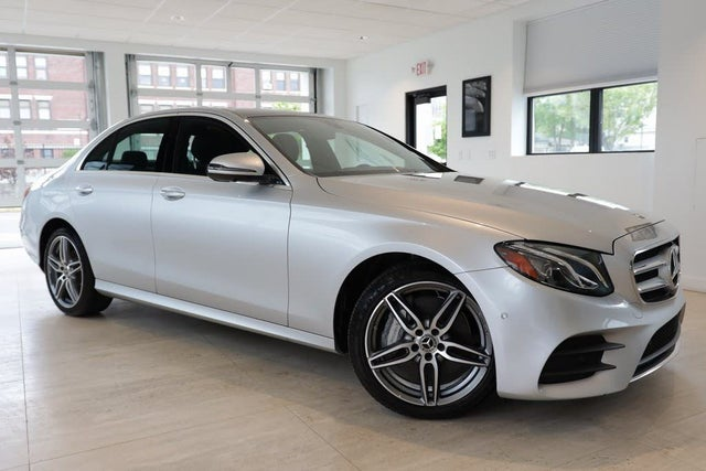 2019 Mercedes-Benz E-Class E 300 4MATIC Sedan AWD