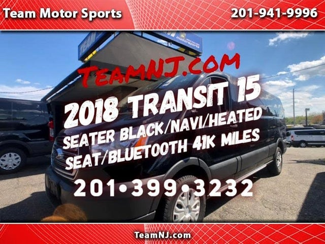 2018 Ford Transit Passenger 350 XLT Low Roof LWB RWD with Sliding Passenger-Side Door