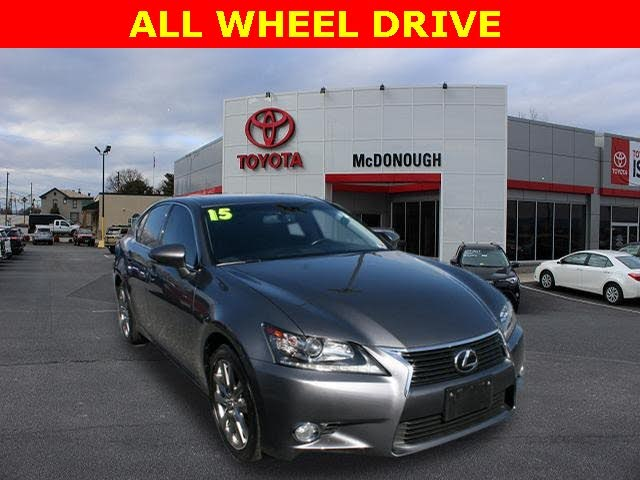2015 Lexus GS 350 F Sport Crafted Line AWD