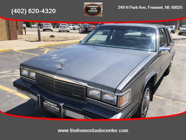 1985 Cadillac DeVille Coupe FWD