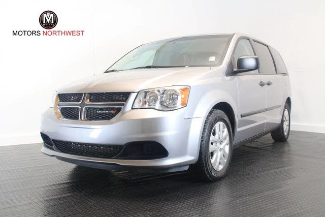2016 Dodge Grand Caravan Canada Value Package FWD