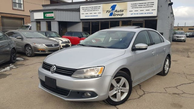 2013 Volkswagen Jetta TDI with Premium and Nav
