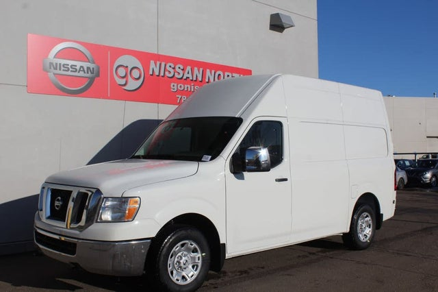 2020 Nissan NV Cargo 2500 HD SV with High Roof V8 RWD