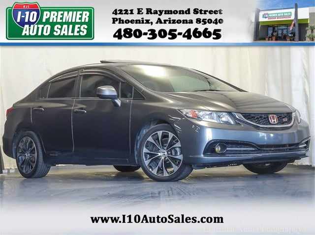 2013 Honda Civic Si with Summer Tires
