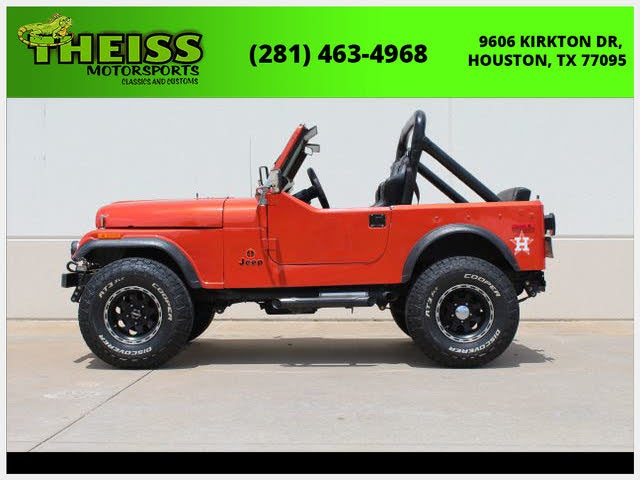 1978 Jeep CJ-7 Goldeneye