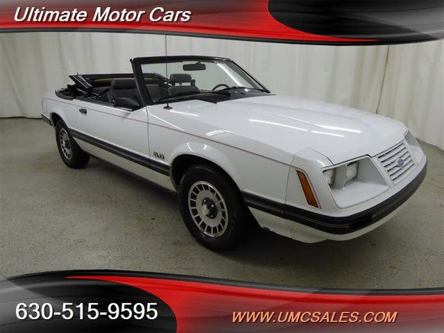1984 Ford Mustang GT Convertible RWD