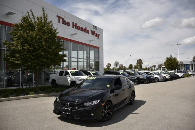 2019 Honda Civic Hatchback Sport FWD