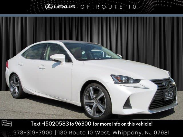 2017 Lexus IS 300 Sedan AWD