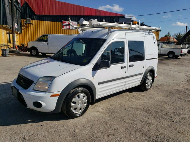 2012 Ford Transit Connect Cargo XLT FWD with Side and Rear Glass