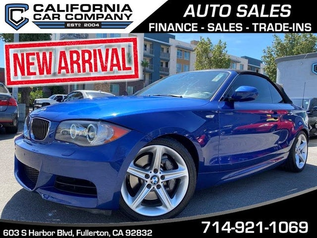 2010 BMW 1 Series 135i Convertible RWD