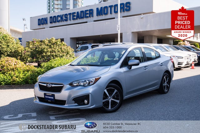 2019 Subaru Impreza 2.0i Touring Sedan AWD