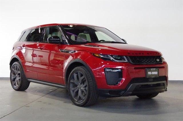 2019 Land Rover Range Rover Evoque Autobiography AWD