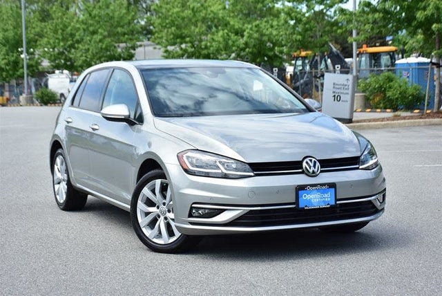2018 Volkswagen Golf 1.8T Highline 4-Door FWD