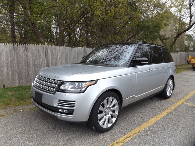 2016 Land Rover Range Rover V8 Supercharged LWB 4WD