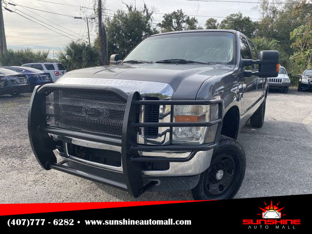 2009 Ford F-250 Super Duty FX4 Crew Cab LB 4WD