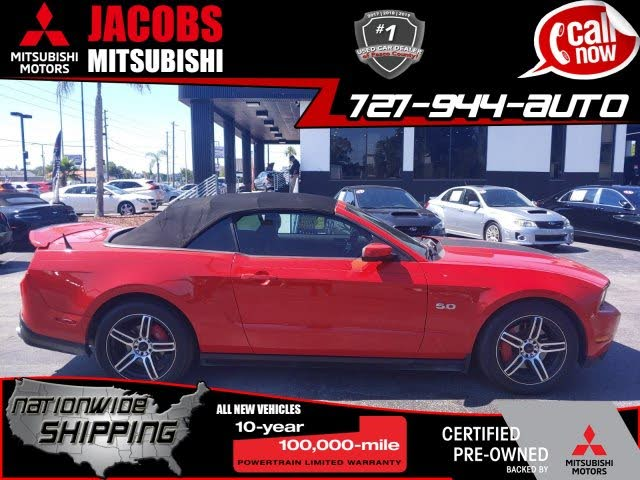 2012 Ford Mustang GT Convertible RWD