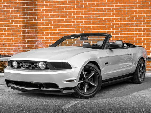 2011 Ford Mustang GT Premium Convertible RWD