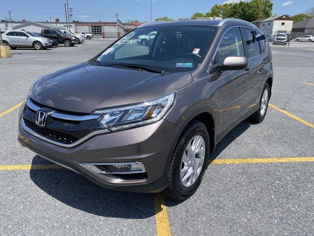 2016 Honda CR-V EX-L AWD with Navigation