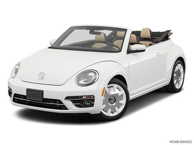 2019 Volkswagen Beetle 2.0T Final Edition SEL Convertible FWD
