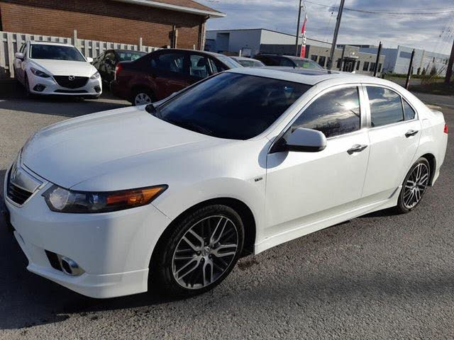 2012 Acura TSX Sedan FWD with A-Spec Package