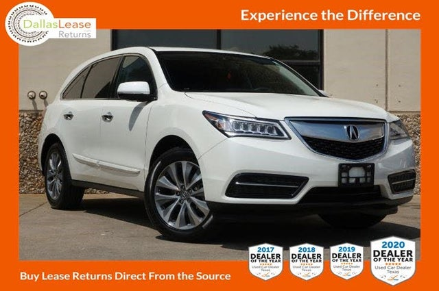 2016 Acura MDX FWD with Technology and AcuraWatch Plus Package