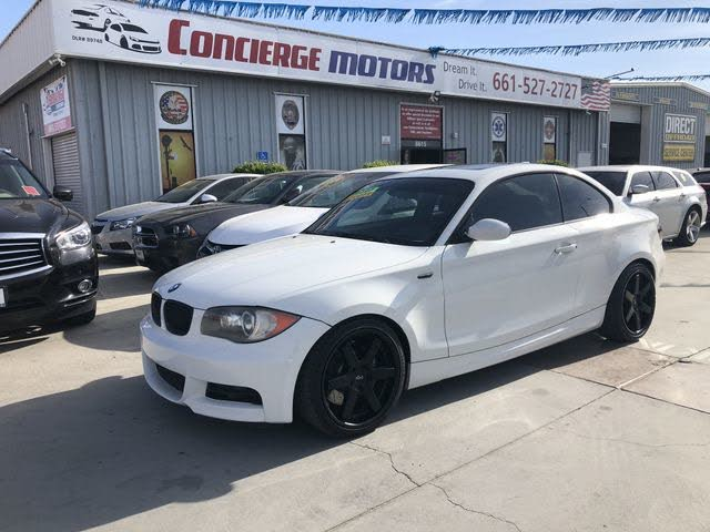 2008 BMW 1 Series 135i Coupe RWD