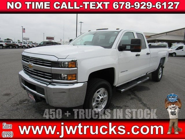 2016 Chevrolet Silverado 2500HD Work Truck Double Cab LB RWD