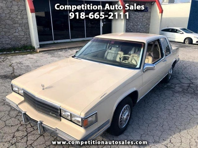 1986 Cadillac DeVille Coupe FWD
