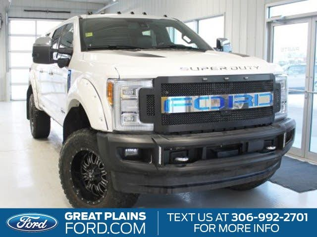 2018 Ford F-350 Super Duty Limited Crew Cab 4WD