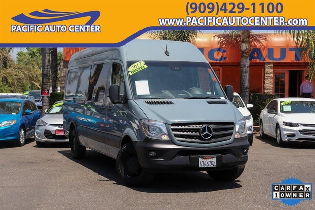 2017 Mercedes-Benz Sprinter 2500 170 V6 High Roof Crew Van