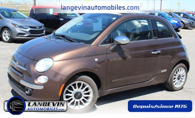 2014 FIAT 500 Lounge Convertible