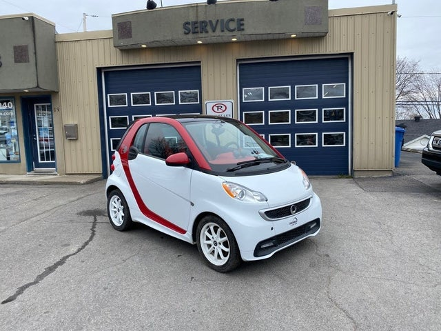 2015 smart fortwo electric drive hatchback RWD