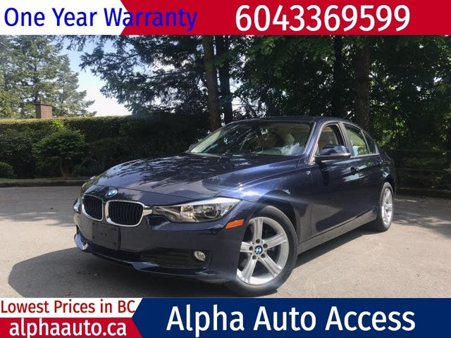2015 BMW 3 Series 320i xDrive Sedan AWD
