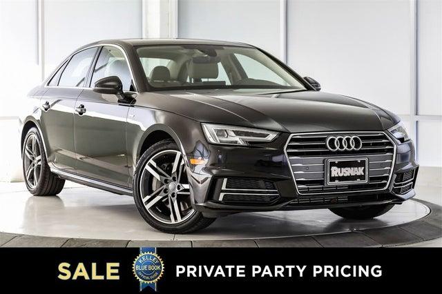 2017 Audi A4 2.0T Premium Plus Sedan FWD