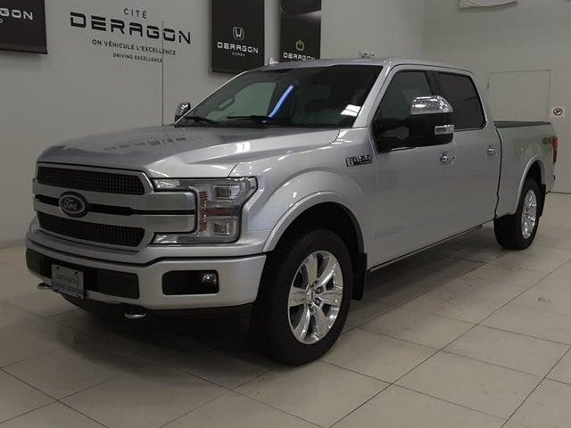 2018 Ford F-150 Platinum SuperCrew LB 4WD