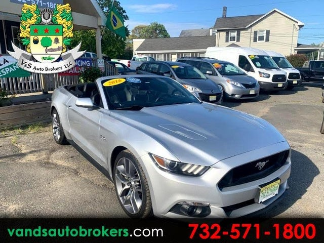 2016 Ford Mustang GT Premium Convertible RWD