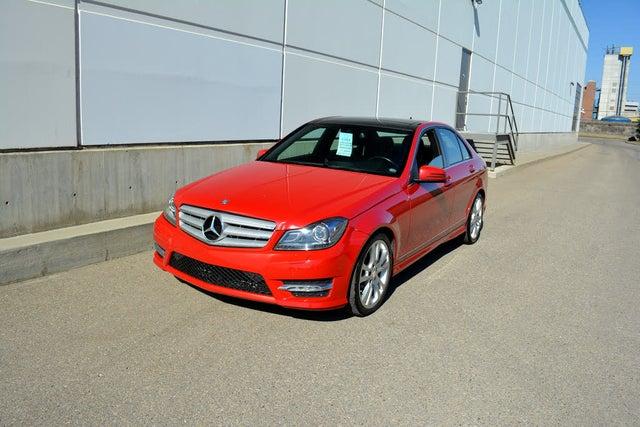 2013 Mercedes-Benz C-Class C 350 4MATIC Sedan