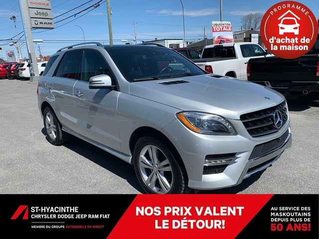 2015 Mercedes-Benz M-Class ML 350 BlueTEC 4MATIC