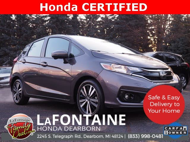 2018 Honda Fit EX-L with Navi