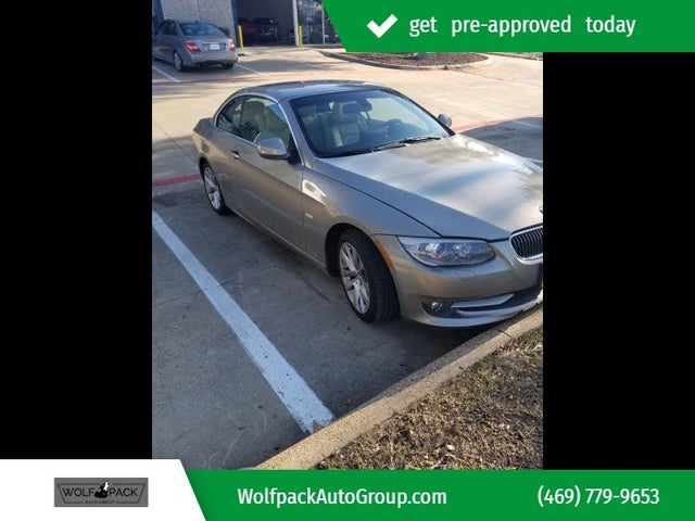 2011 BMW 3 Series 328i Convertible RWD