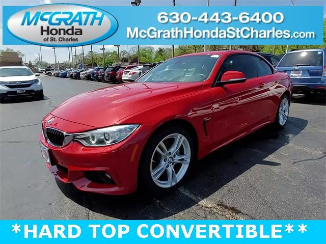2015 BMW 4 Series 435i xDrive Convertible AWD