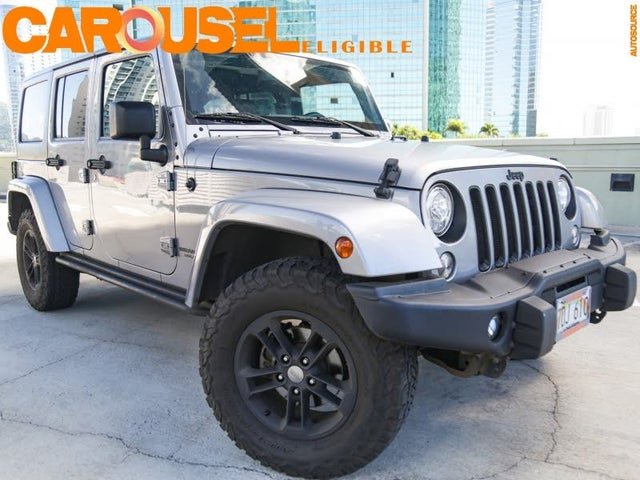 2017 Jeep Wrangler Unlimited Winter 4WD