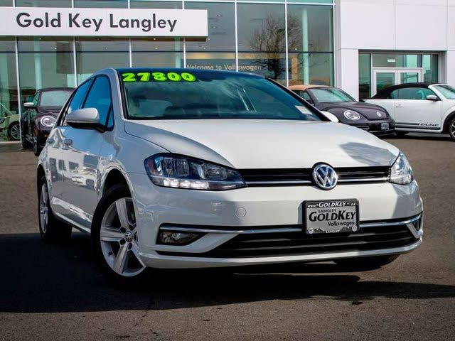 2019 Volkswagen Golf 1.4T Highline 4-Door FWD