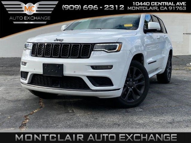 2018 Jeep Grand Cherokee High Altitude 4WD